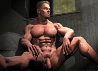 porn gay bodybuilders sitting rick page
