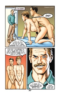 porn gay comic josman father son erotic gay comic incest drawn further tales sons fathers