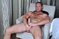 red Picture porn gay brian comer guy gay porn cub bear hairy beefy redhead red ginger beard jerking off dick cock stroking masturbation solo average next door woof alert