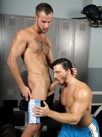 Reese gay porn star reese rideout chris bines fucks randy blue