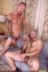 sex Pic gay xxx leather shaved head beard beefy body fucking sucking extra dicks blowjob fingering his hole furry fuzzy scruffy hot gay hardcore porn xxx would dothis white trash