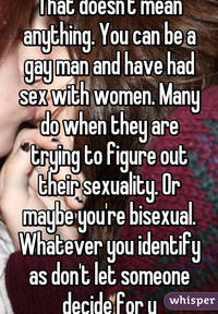 sex with a gay man eadefaa ced whisper that doesnt mean anything can gay man have had
