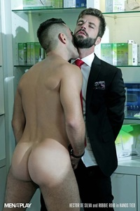 sexual gay porn menatplay suited robbie rojo sexual favours hector silva horny thick uncut spanish dick tongue deep rimming smooth ass hole fucking gay porn star video gallery photo free men suits