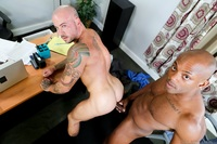 sexy black gay porn extrabigdicks osiris blade sean duran black men kiss stroking sucking sexy thick fat fucking long cock massive load cum gay porn star video gallery photo bends over desk pumping his deep asshole