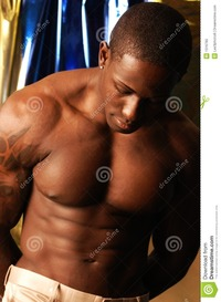 sexy black guys shirtless shirtless black man royalty free stock photo