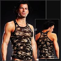 sexy man gays albu sexy lingeries vest camouflage muscle tank product