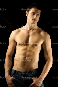 sexy muscular black men depositphotos sexy muscular man stock photo
