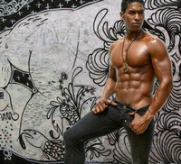 sexy muscular black men unstoppablebsc queendom warning suitable work galaxy chocolate eye candy