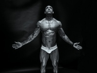 sexy muscular black men tagged black muscle