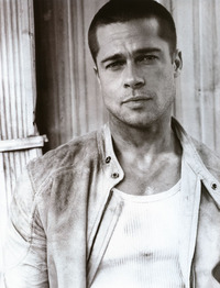 sexy pics man brad pitt black white hot sexy man teh wimmins