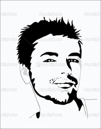 sexy pics man depositphotos portrait young sexy man stock illustration
