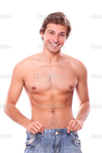 sexy pics man depositphotos sexy man naked torso after weight lose stock photo