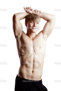 sexy pics man depositphotos muscular young sexy nude man studio stock photo
