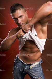 sexy pics man depositphotos young sexy man stock photo