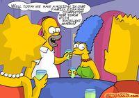 Porn simpsons gay Free Simpsons