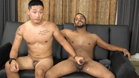 suck dick gay porn straight fraternity aaron junior asian sucks cock amateur gay porn hung stud gives his blowjob another guy