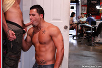 tattoo gay porn out public tattoo shop fucking