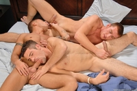 threesome gay porn adam wirthmore conner macguire brody wilder threesome gay boys next door connor