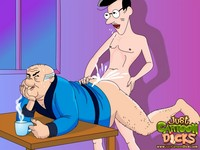 toon sex gay old fat gay grandpa toon