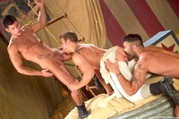 top gay porn Pictures behind leo domenico logan vaughn rogan richards raging stallion studios gay porn photo