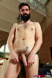 UK men gay porn tom long shows off solo gay porn naked men who would rather scruffy newcomer beardy