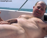 uncut gay men pics uncut boating man milked precumming dick