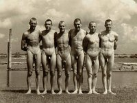vintage gay porn photos pictures six naked men wallpaper