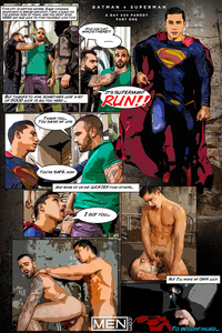 xxx gay porn Pics batman supermancomic part superman xxx gay comics
